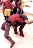 genevieve cron in s africa dancing